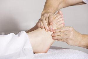 Zoneterapi velvære fødder behandling